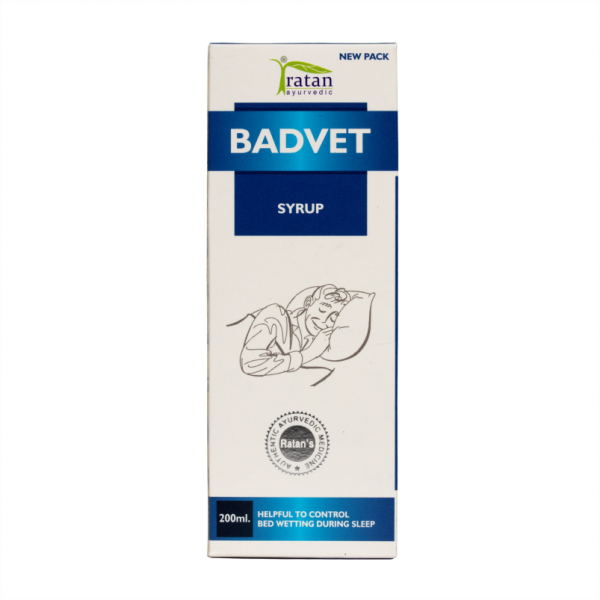 Badvet Ayurvedic Syrup for Bed-wetting