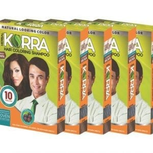 Korra Darket Brown Hair Colouring Shampoo