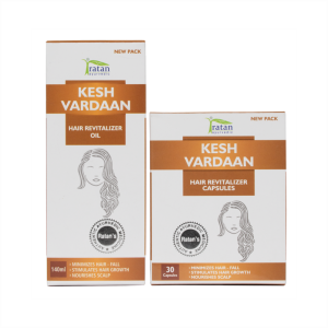 Kesh Vardaan Hair Revitalizer Oil Combo